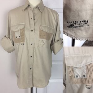 Ralph Lauren Safari Button Down Shirt